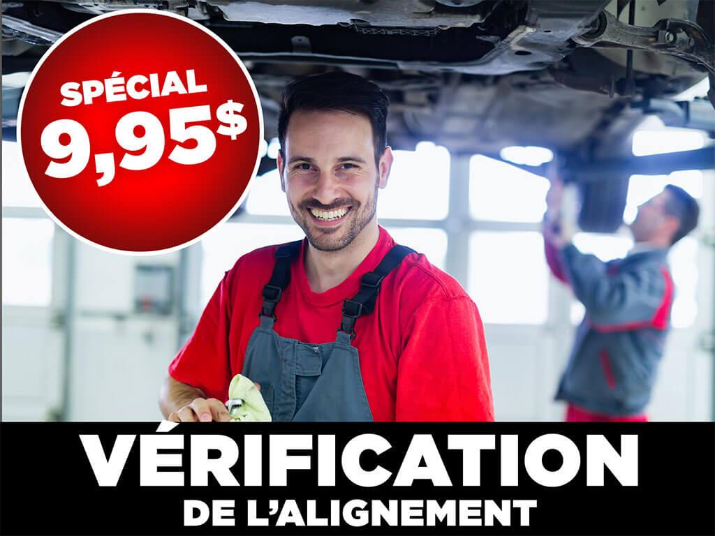 995 verification alignement