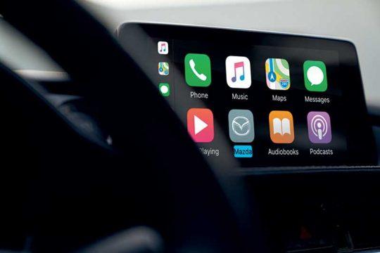 Mazda6 2021 apple carplay android auto