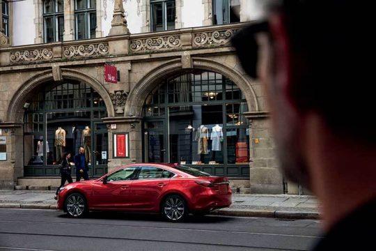 Mazda6 2021 vue transversale